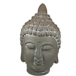 Cabeza de Buda, Gris oscuro, CH de Trading