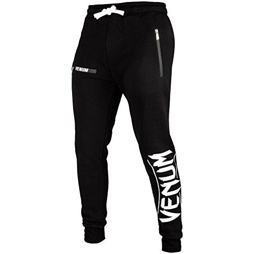 Venum Contender 2.0 Pantalon Homme, Noir/Blanc, FR : L (Taille Fabricant : L)