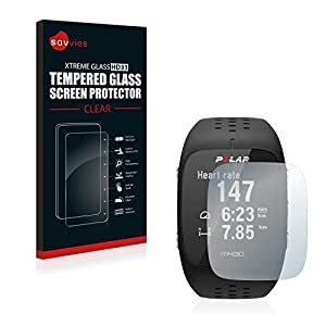 Savvies Tempered Glass Screen Protector Compatible with Polar M430 - Hardness 9H