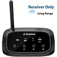 Avantree RC500 100ft Long Range Bluetooth 4.2 Receiver for Hifi Home Stereo