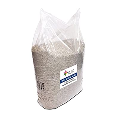 Mituso 25Kg Quarz-Sand 0,4-0,8 mm Körnung