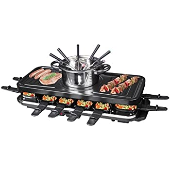 tv unser original 02460 gourmet maxx raclette und fondue set. Black Bedroom Furniture Sets. Home Design Ideas
