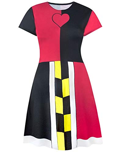 Disney Alice in Wonderland Queen of Hearts Costume Dress