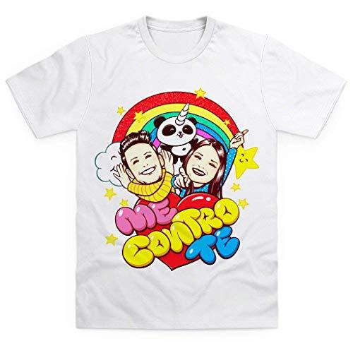 Kira E Ray 100% Cotone T-shirt E Maglie Bambini 2 - 16 Anni T-shirt Maglietta Dei Me Contro Te Sofi E Lui
