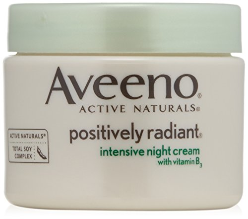 Aveeno Positively Radiant Intensive Night Cream 1.7 Ounce -