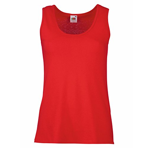 Fruit of the Loom - Canotta -  donna Red