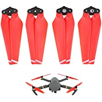 JXE 2 Pairs 8330F Propellers Quick-release Foldable Props for DJI MAVIC PRO - Red - Compare prices on radiocontrollers.eu