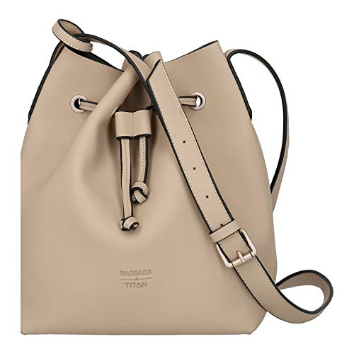 Damen Bucket Bag (Titan Barbara Pure Bucket Bag 29 cm Sand)