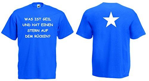 world-of-shirt Herren T-Shirt WAS IST GEIL... T-Shirt Funshirt royalblau