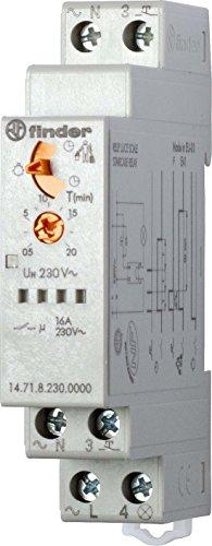 Preisvergleich Produktbild Finder Treppenhauslichtautomat N/L schalter, 1 Stück, 14.71.8.230.0000