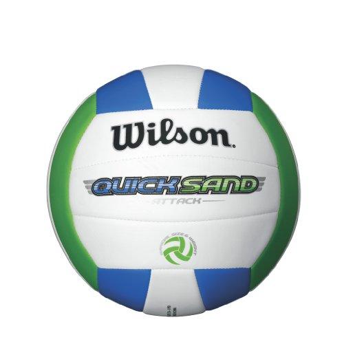 Wilson Quicksand Attack Outdoor Volleyball (grün/weiß/blau)