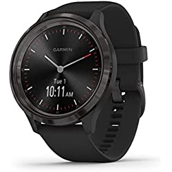 Garmin Vívomove 3 Sport 44 - Reloj inteligente, color negro