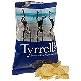 Tyrrells - Chips légèrement salées au sel de mer - 40 g