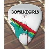 Printed Picks Company Boys Like Girls Premium Guitar Pick x 5 Medium