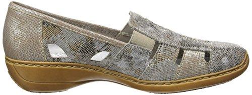 Rieker Damen 41385-91 Slipper Gold (91 91)