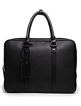 MeiliYH Neue Herren PU Leder Business Handtaschen Mode multifunktionale Taschen für Herren
