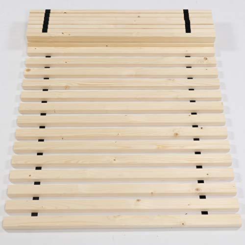TUGA - Holztech Naturprodukt FSC 28 LEISTEN bis 250Kg in der Größe 180 x 200 cm ROLLROST Lattenrost Qualitätsarbeit aus Deutschland unbehandelt, frei von Chemie inkl Befestigungskit