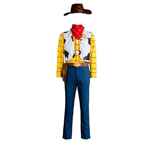 MingoTor Magier Outfit Cosplay Kostüm Herren XXXL (Kostüm Halloween Woody)
