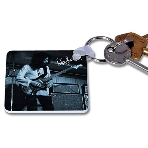 Fleetwood Mac - Peter Green 1 Novelty Keyring Printed Autographed Key Chain