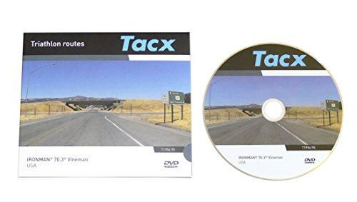 Tacx DVD Real Life Video Ironman 70.3 Triathlon Vineman Windsor Californien USA