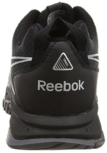 Reebok Ridgerider Trail, Scarpe da Corsa Uomo Nero / grigio / argento (nero / squalo / Acciaio / argento opaco)