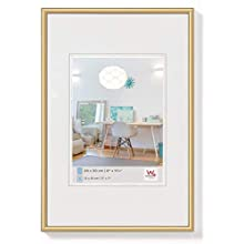 Walther New Lifestyle KV015B Plastic Picture Frame, gold, 70 x 100 cm