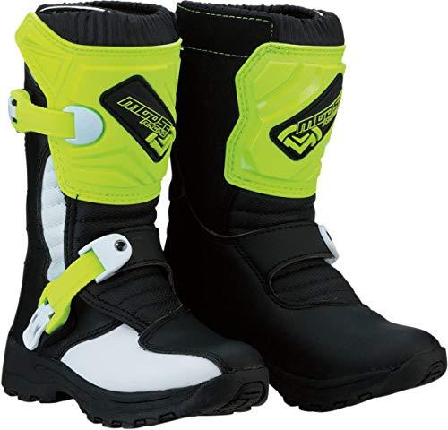 Moose Racing M1.3 Enduro MX - Stivali da motocross, per bambini, colore: nero/giallo