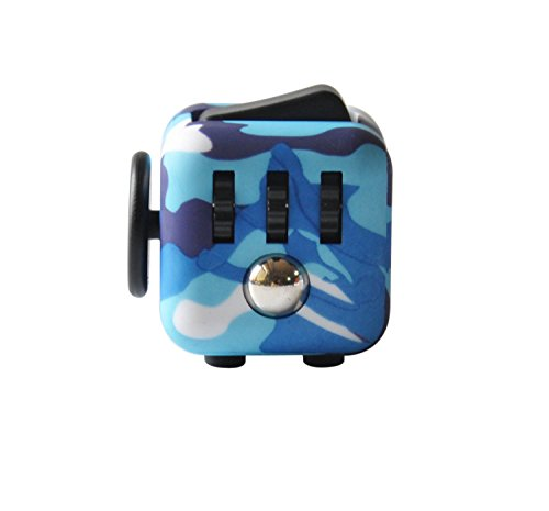 Highline Fidget Cube Fidget Toy for ADD and Stress Relief Fidget Sensory toys for Adults and Children (Camo)