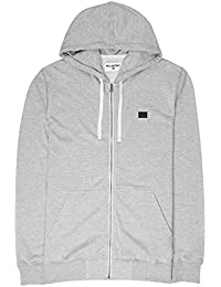 premium selection 0bf63 54c65 BILLABONG All Day Zip Hood Jersey, Hombre, Gris (Grey 17), Large