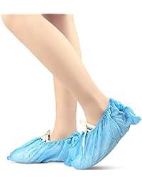 SHKY Cubrezapatos de 200 Piezas, protección desechable para Las Cubiertas del Zapato - para la