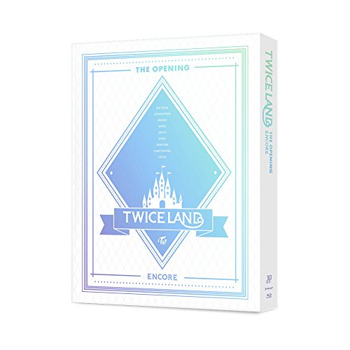 JYP TWICE - TWICELAND THE OPENING ENCORE Blu-ray 2Disc+Photo Summary+Lenticular+Free Gift