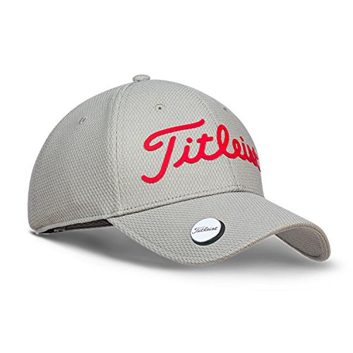 Titleist Casquette du Golf (Performance Ball Marker) (Performance Ball Marker, Grey/Red, Free)