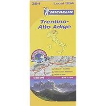 Carte Trentin Michelin
