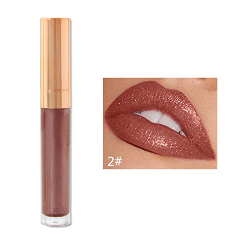 Momoxi 6 Colors Nude Velvet Glossy Lip Gloss Lipstick Lip Cream Cosmetic Makeup