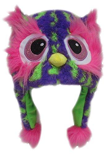 Monster Mütze Plüsch Kinder Erwachsene Karneval Halloween Wintermütze Jungen Mädchen Kindermütze 9011