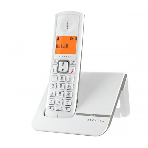 ALCATEL Versatis F230 - Téléphone sans fil design Contemporain et coloré, Pure Sound, Mains Libres de Qualité, écran rétroéclairé Ultra Lisible, Grand Répertoire, Sonnerie Vip -