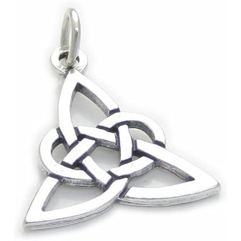 Nodo celtico Ciondolo in argento Sterling .925x 1Ciondoli Pendente nodi cf5481