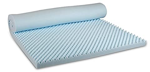 Visco Therapy CoolBlue Egg 5 cm Memory Foam Mattress Topper - Small Double