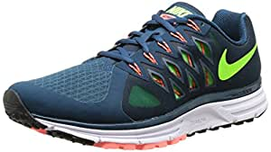 Nike Men s Zoom Vomero 9 Running Shoes Spc Blue/Elctrc Grn/Brght Mng 8.5 D(M) US