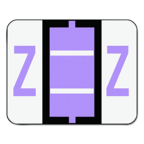Smead BCCR Bar Style Color Coded Labels Z - Lavender 500pieza(s) - Etiqueta autoadhesiva (31,8 mm, 25,4 mm, 500 pieza(s), 1 hojas)