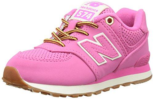 New Balance 574, Scarpe da Ginnastica Basse Unisex - Bambini, Rosa (Pink), 39 EU