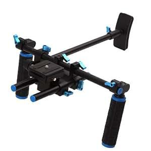(D)SLR Rig épaule PAD Support mount avec Poignée pour les appareils photo reflex et caméras vidéo