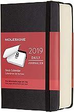 Moleskine 2019 Calendario da Tavolo Giornaliero 12 Mesi, Tascabile, Copertina Rigida, Nero