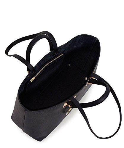 Sophie Hulme Femmes cuir sac fourre-tout cromwell Noir Noir