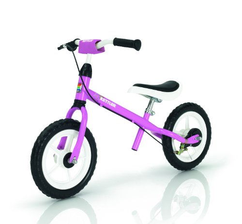 Kettler - 8719-100 - Vélo et Véhicule pour Enfant - Draisiennes avec Frein - Speedy 12,5 inches - Rose