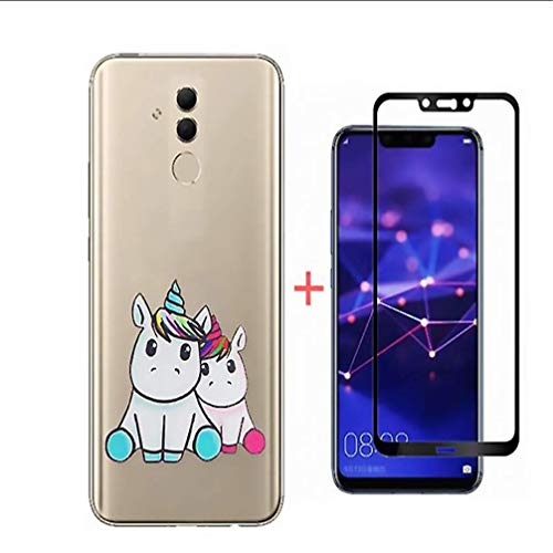 LukeLu Compatible Samsung Galaxy A6 2018 Funda Transparente