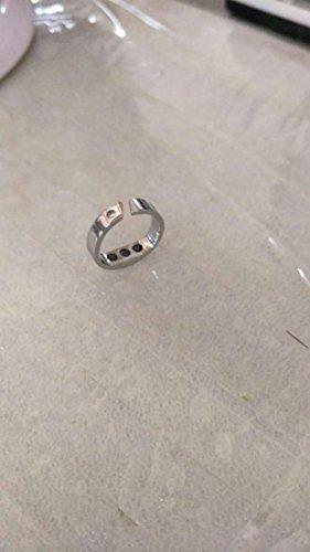 Titanium Stahl Anti Snore Ring Akupressur natürliche Behandlung gegen Schnarchen Stopper Gerät Finger Ring Schlaf Gesundheitswesen - Schnarchen Behandlung