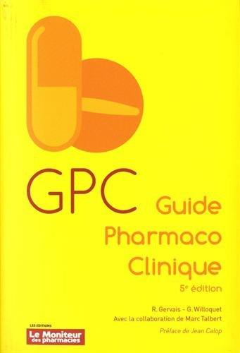 GPC Guide Pharmaco Clinique