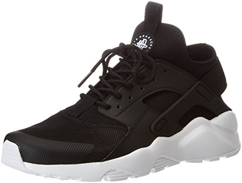 Nike, Air Huarache Run Ultra, Scarpe Running, Uomo, Nero (Black/White 016), 43 EU