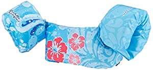 Stearns Unisex Puddle Jumper Deluxe Life Jacket, Firl Flower, Blue, 30-50 Pounds